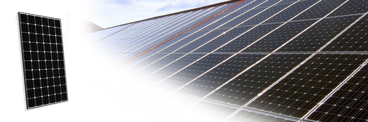 panneau solaire photovoltaique 300w monocristallin implant. Black Bedroom Furniture Sets. Home Design Ideas