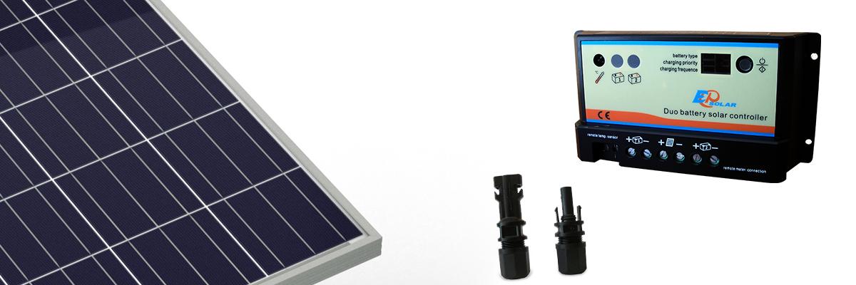 Regolatore Pannello Solare Per Camper : Kit solare camper w v pannello fotovoltaico