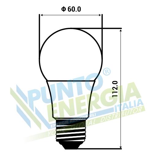 lampen birnen led syrio power 7w 12v 24v e27 kaltes wei ebay. Black Bedroom Furniture Sets. Home Design Ideas