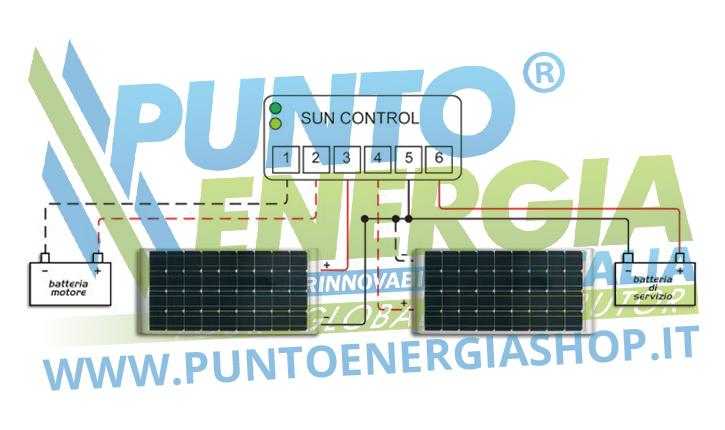 Regolatore Di Tensione Pannello Solare Camper : Regolatore di carica a v pwm pannello solare