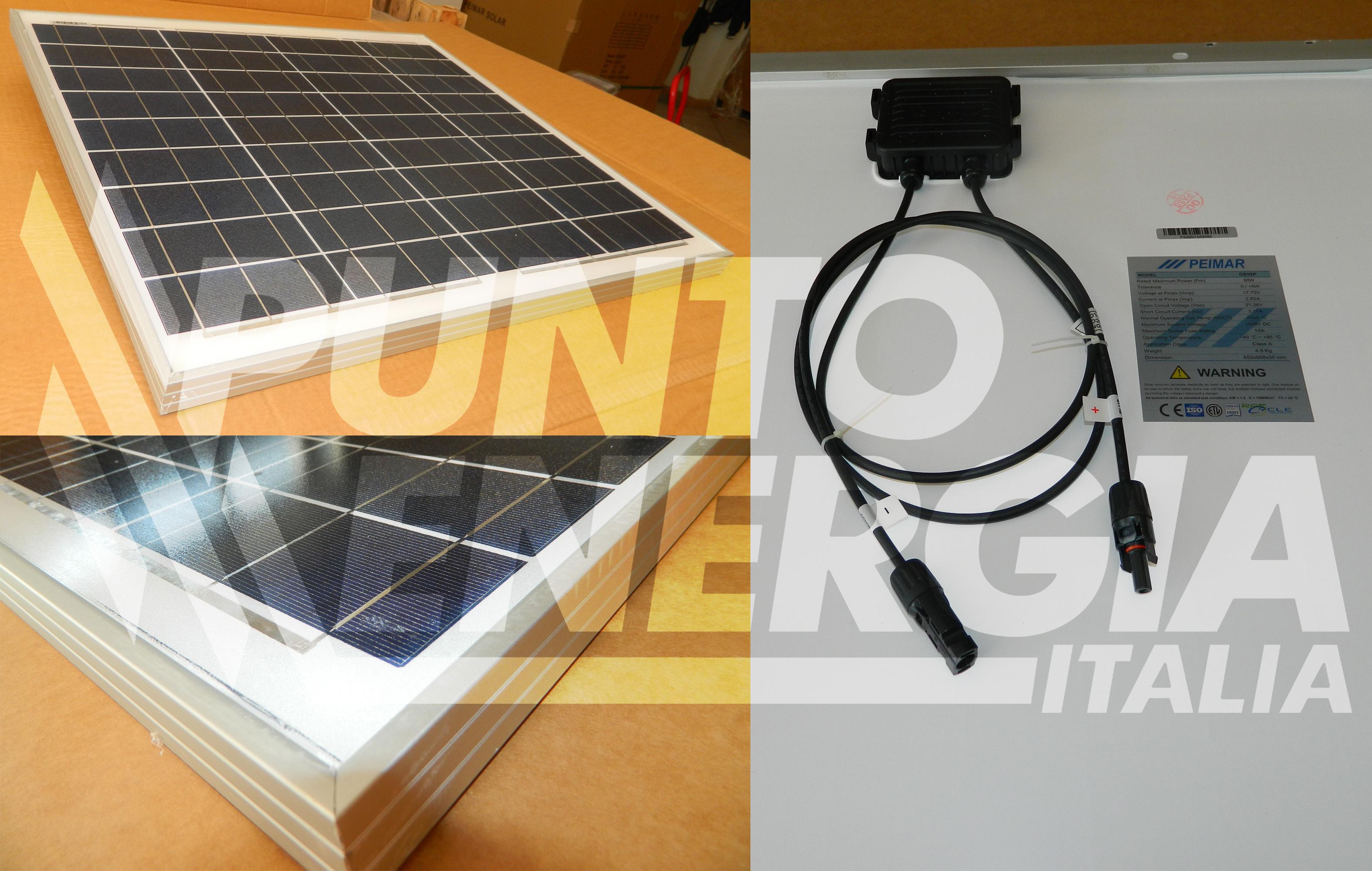 Pannello Solare Westfalia : Pannello solare fotovoltaico w v policristallino