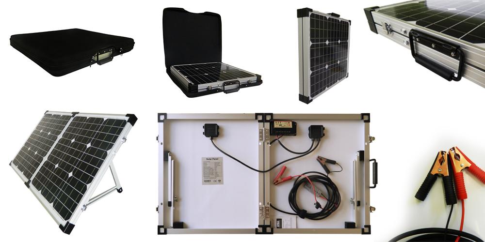 Quanto Costa Pannello Solare Per Camper : Pannello solare pieghevole mono w v con regolatore di