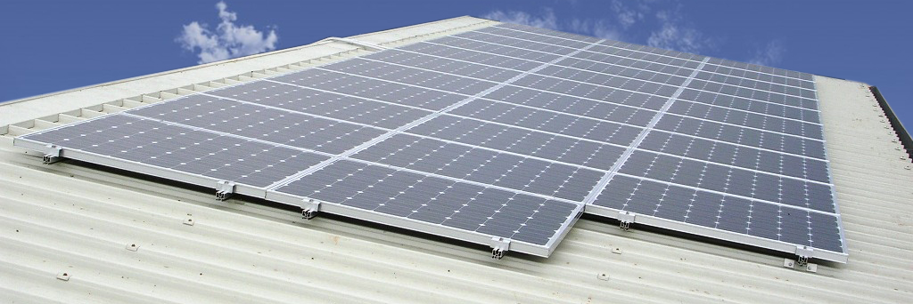 Kit Pannello Solare Fotovoltaico : Kit fissaggio per pannello solare fotovoltaico da w