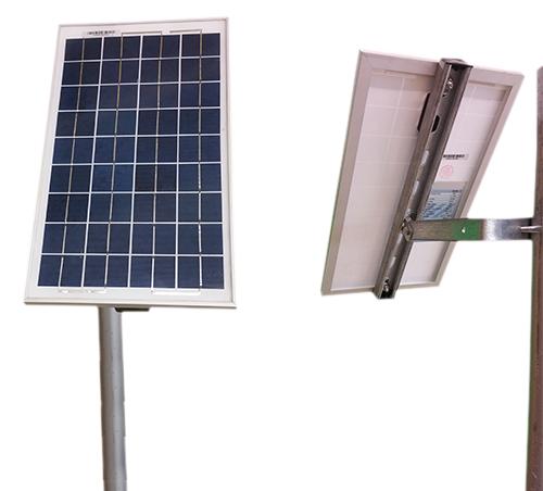 Kit Pannello Solare 10w : Kit solare plus w pannello regolatore a supporto testapalo